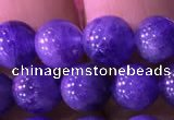 CTZ513 15.5 inches 6mm round natural tanzanite gemstone beads