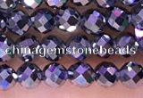 CTZ652 15.5 inches 3mm faceted round tiny terahertz beads
