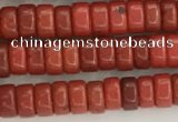 CWB825 15.5 inches 2*4mm tyre howlite turquoise beads wholesale