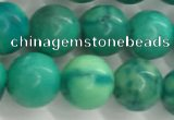 CWB877 15.5 inches 8mm round howlite turquoise beads wholesale